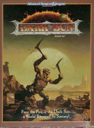 Dark Sun - The original Dark Sun Boxed Set