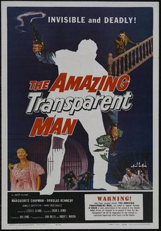 The Amazing Transparent Man - Image: The amazing transparent man movie poster md