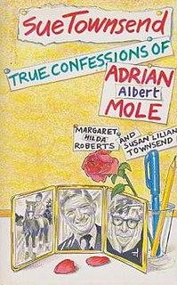 <i>The True Confessions of Adrian Albert Mole</i> 1989 Book by Sue Townsend
