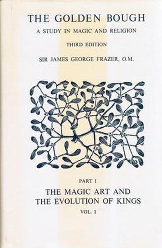 The Golden Bough - Cover of the first volume of the 1976 Macmillan Press edition