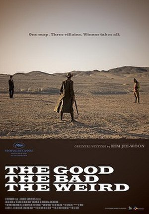 The Good, the Bad, the Weird - Theatrical poster