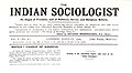 The Indian Sociologist (masthead) (Vol. 5, no. 8 - August 1909).jpg