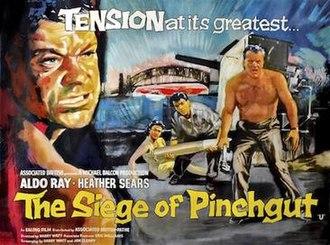 The Siege of Pinchgut - Original UK quad format film poster