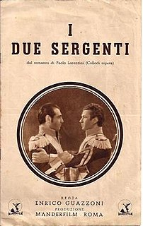 <i>The Two Sergeants</i> (1936 film) 1936 film by Enrico Guazzoni