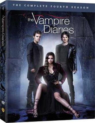 The Vampire Diaries (season 4) - Image: The Vampire Diaries S4 DVD