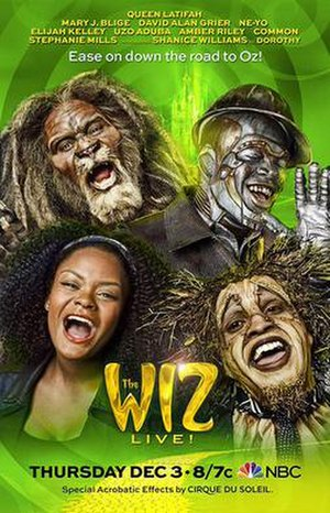 The Wiz Live! - Promotional poster