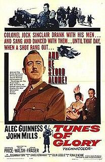 <i>Tunes of Glory</i> 1960 film by Ronald Neame