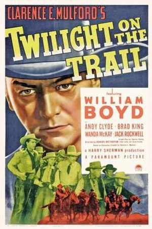 Twilight on the Trail - Theatrical release poster
