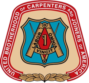 United Brotherhood of Carpenters and Joiners of America - Image: UBC union logo