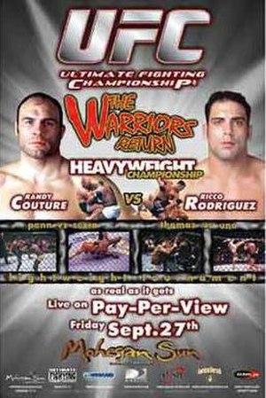 UFC 39 - Image: UFC39poster