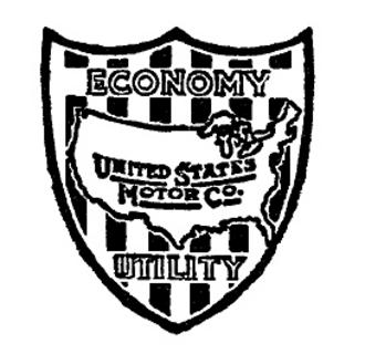 United States Motor Company - Emblem of the U S Motor Co. circa 1911