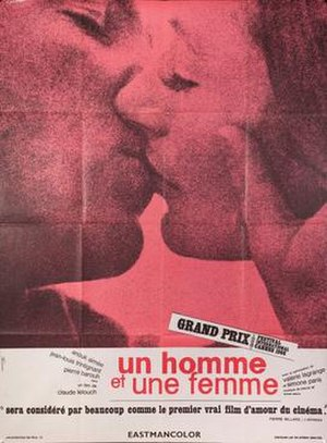 A Man and a Woman - French film poster