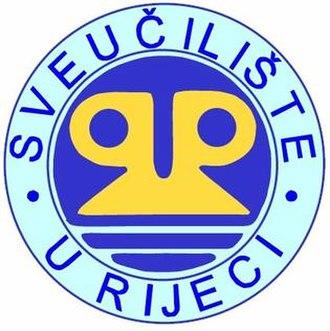 University of Rijeka - Image: University of Rijeka logo