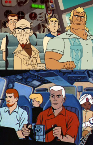 The Venture Bros. - Comparing the main characters of The Venture Bros. and Jonny Quest