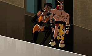 Vixen (comics) - Vixen as she appears in Batman: The Brave and the Bold.
