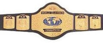 WCW World Television Championship - The last WCW World Television Championship belt