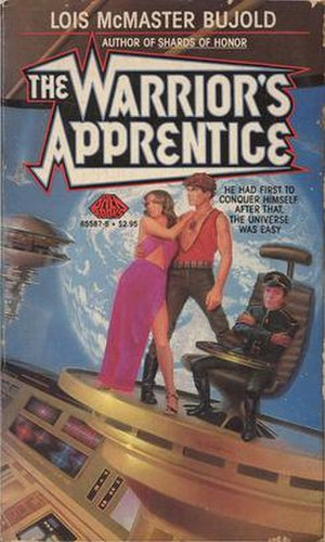 The Warrior's Apprentice - Cover of the first edition