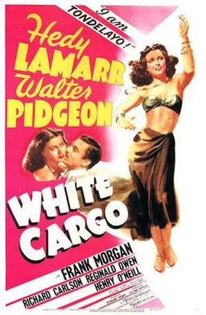 White Cargo - 1942 US theatrical poster
