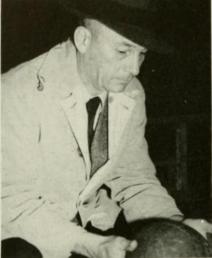 Bill Lange (coach) - Lange pictured in Yackety Yack 1943, North Carolina yearbook