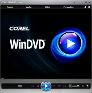 WinDVD - Image: Win DVD 9 screenshot