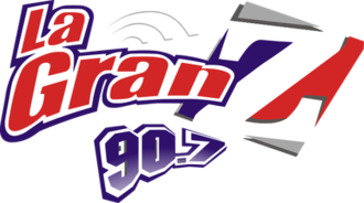 XHEZ-FM - Image: XHEZ La Gran Z90.7 logo