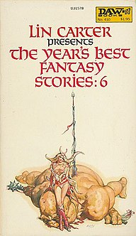 <i>The Years Best Fantasy Stories: 6</i> book by Lin Carter