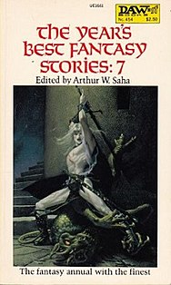 <i>The Years Best Fantasy Stories: 7</i> book by Arthur W. Saha