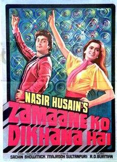 <i>Zamane Ko Dikhana Hai</i>