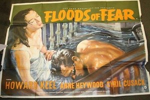Floods of Fear - British quad poster