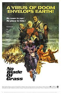 <i>No Blade of Grass</i> (film) 1970 film by Cornel Wilde