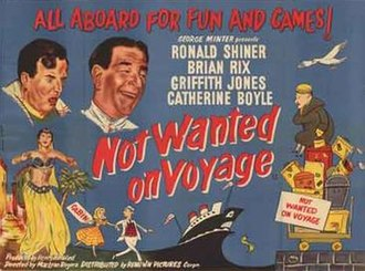 Not Wanted on Voyage - Original British theatrical poster