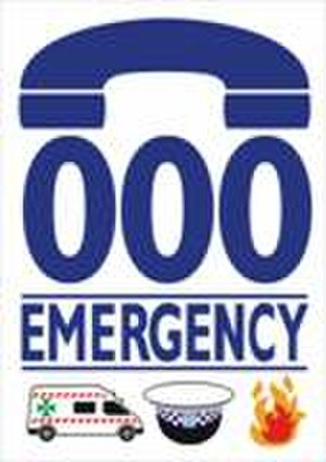 000 (emergency telephone number) - Image: 000 Emergency Logo 01