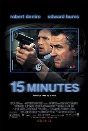 15 Minutes - Theatrical release poster