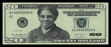 Official $20 bill prototype prepared by the Bureau of Engraving and Printing in 2016 16-bep-tubmanbill.jpg