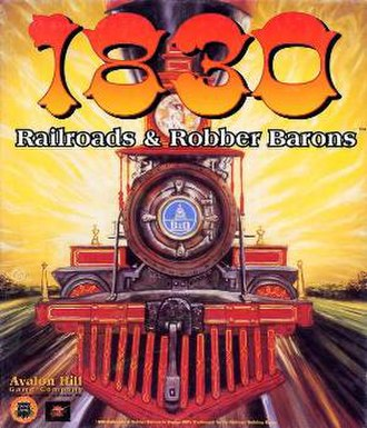 1830: Railroads & Robber Barons - Cover art