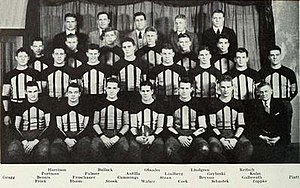 1933 Illinois Fighting Illini football team - Image: 1933 Illinois Fighting Illini football team