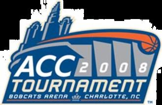 2008 ACC Men's Basketball Tournament - 2008 ACC Tournament logo