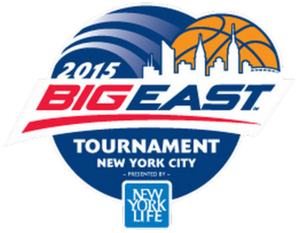 2015 Big East Men's Basketball Tournament - Image: 2015 Big East Tournament Logo