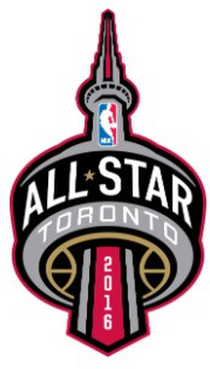 2016 NBA All-Star Game - Image: 2016 NBA All Star Game logo
