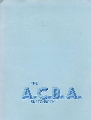Academy of Comic Book Arts - The ACBA Sketchbook (1973)