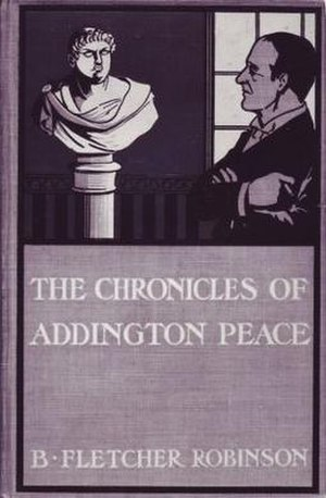 Bertram Fletcher Robinson - Image: Addington Peace