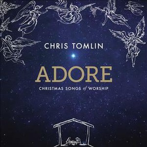 Adore: Christmas Songs of Worship - Image: Adore by Chris Tomlin