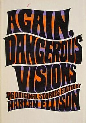 Again, Dangerous Visions - Cover of first edition (hardcover)