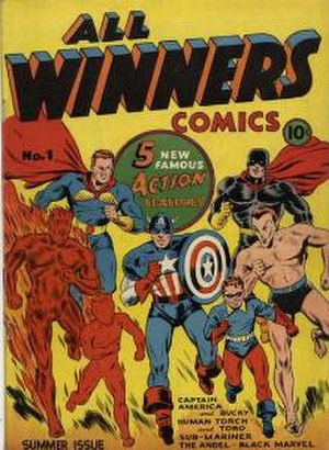 All Winners Comics - Image: All Winners 1 1941series