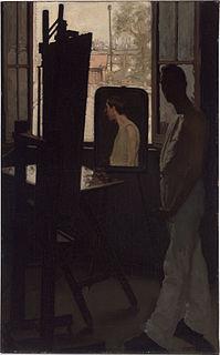 Ambrose McCarthy Patterson Australian-American painter