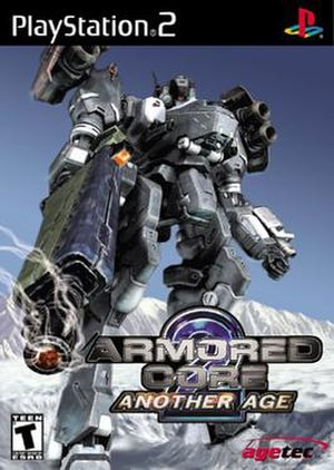 Armored Core 2: Another Age - North American PlayStation 2 cover art