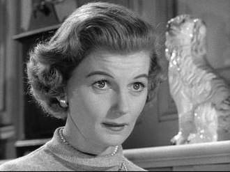 """June Cleaver - Barbara Billingsley in the pilot """"It's a Small World"""", 1957."""