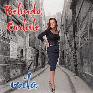 Voila (album) - Image: Belinda Carlisle album cover Voila