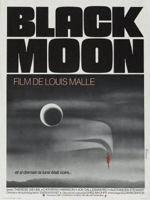 Black Moon (1975 film) - Theatrical Release Poster