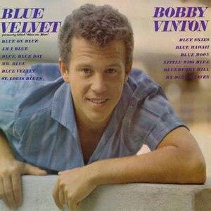 Blue on Blue (Bobby Vinton album) - Image: Bluevelvet